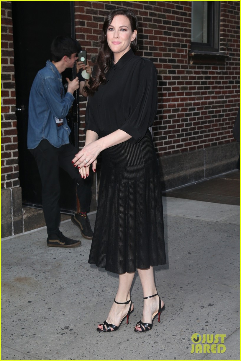 liv tyler promotes harlots season two in nyc 01