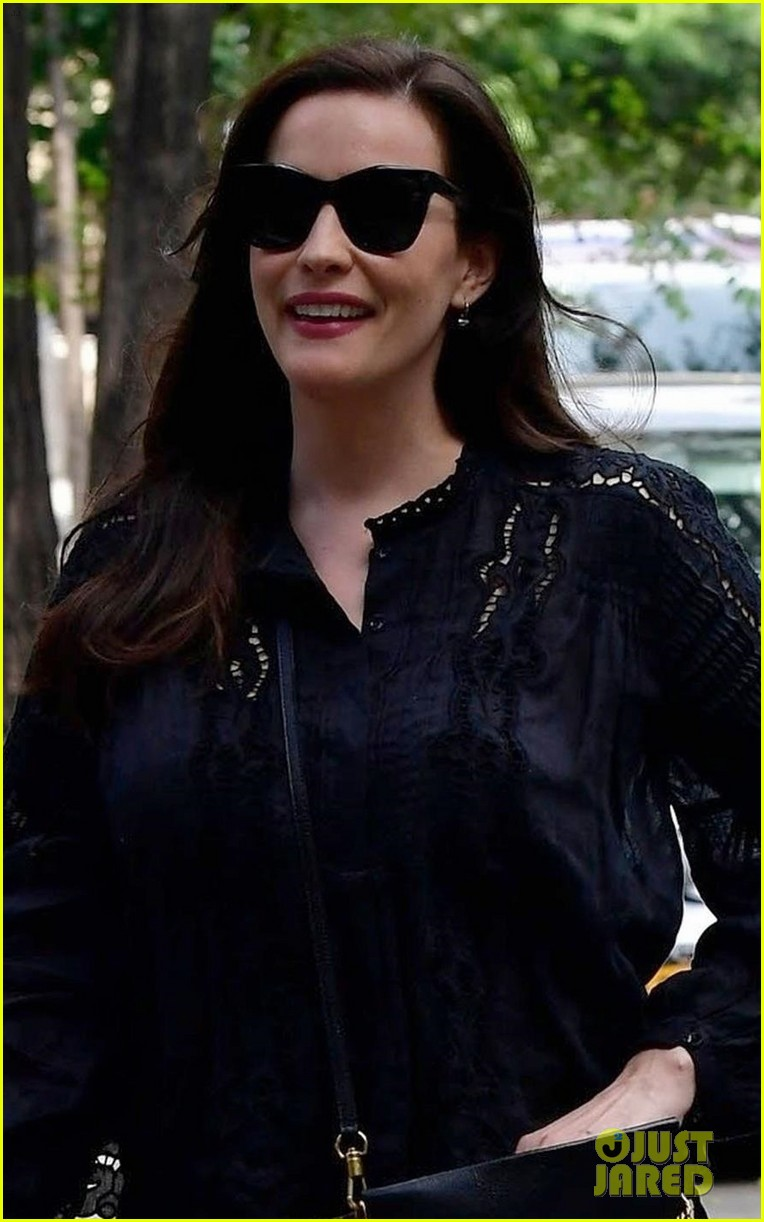 liv tyler promotes harlots season two in nyc 02