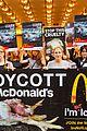 edie falco protests mcdonalds 17