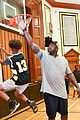 jimmy fallon shaquille oneal play basketball 22