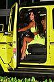 kim kardashian wears neon green outfit 02