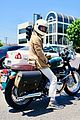 william h macy goes for motorcycle ride in la 02