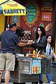 krysten ritter enjoys a lunch breakon jessica jones set 04