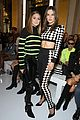 alessandra ambrosio olivia palermo zara larsson step out for balmain paris show 06