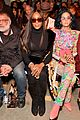 gigi hadid bella hadid and kaia gerber look fab in floral for anna suis nyfw show 02