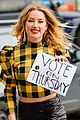 amber heard encourages people to vote on thursday 06