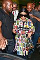 nicki minaj dons colorful outfit while arriving in brazil 06