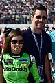 aaron rodgers girlfriend danica patrick celebrates win 05