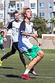 justin bieber goes shirtless playing soccer with friends 11