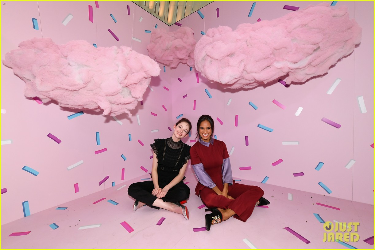 mackenzie foy and misty copeland journey into nutcracker and the four realms at nyc pop up01