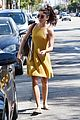 sarah hyland goes braless in mustard yellow dress while out in la09