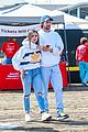 patrick schwarzenegger wraps arms around friend while out with maria and christina01