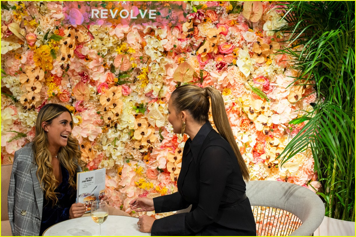 chrissy teigen shows off her revolve collection at nyc pop up18
