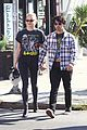 sophie turner holds on close to joe jonas during afternoon outing 05