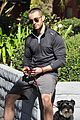 chace crawford walks his dog 03
