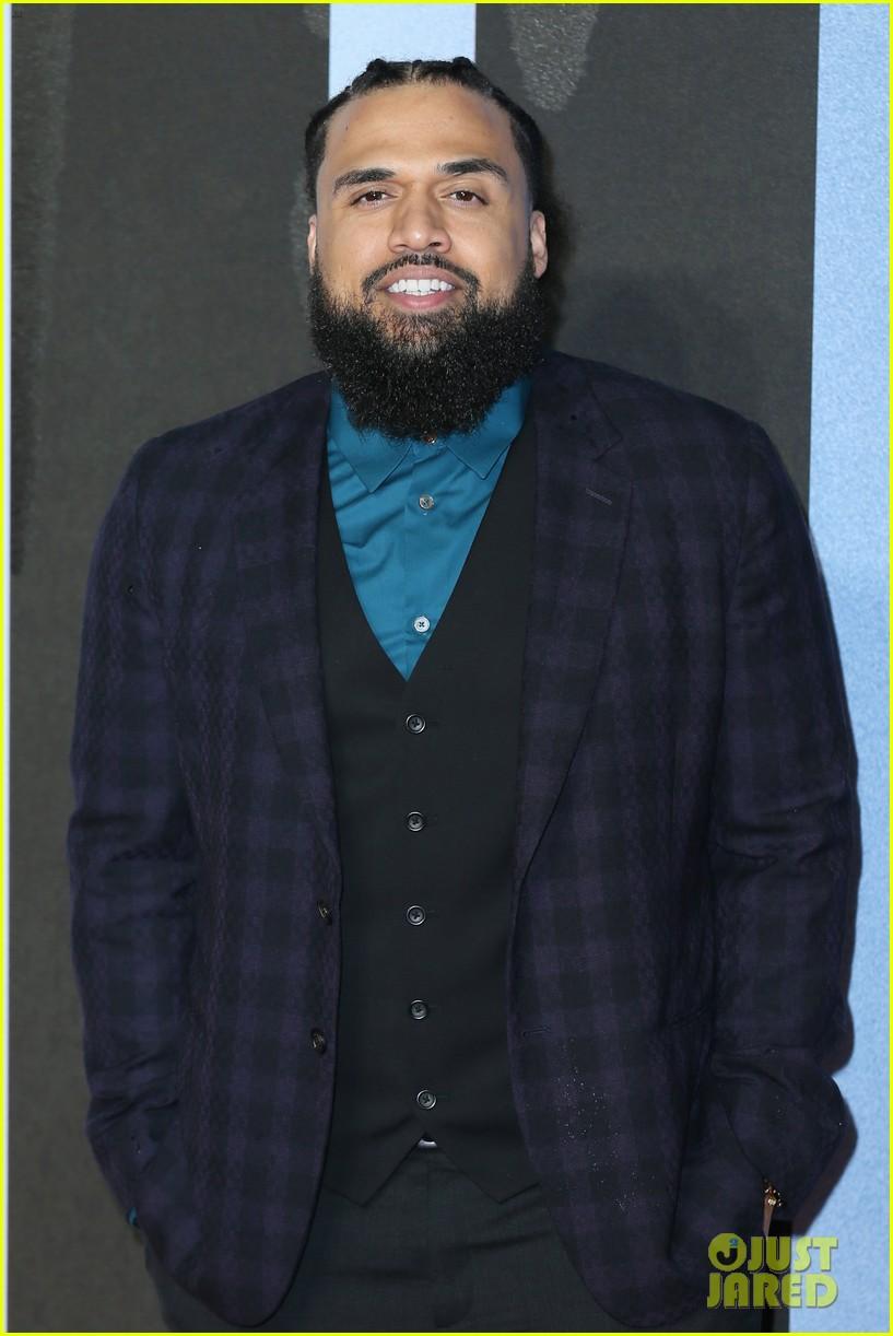 michael b jordan tessa thompson hit red carpet for european premiere of creed ii 36