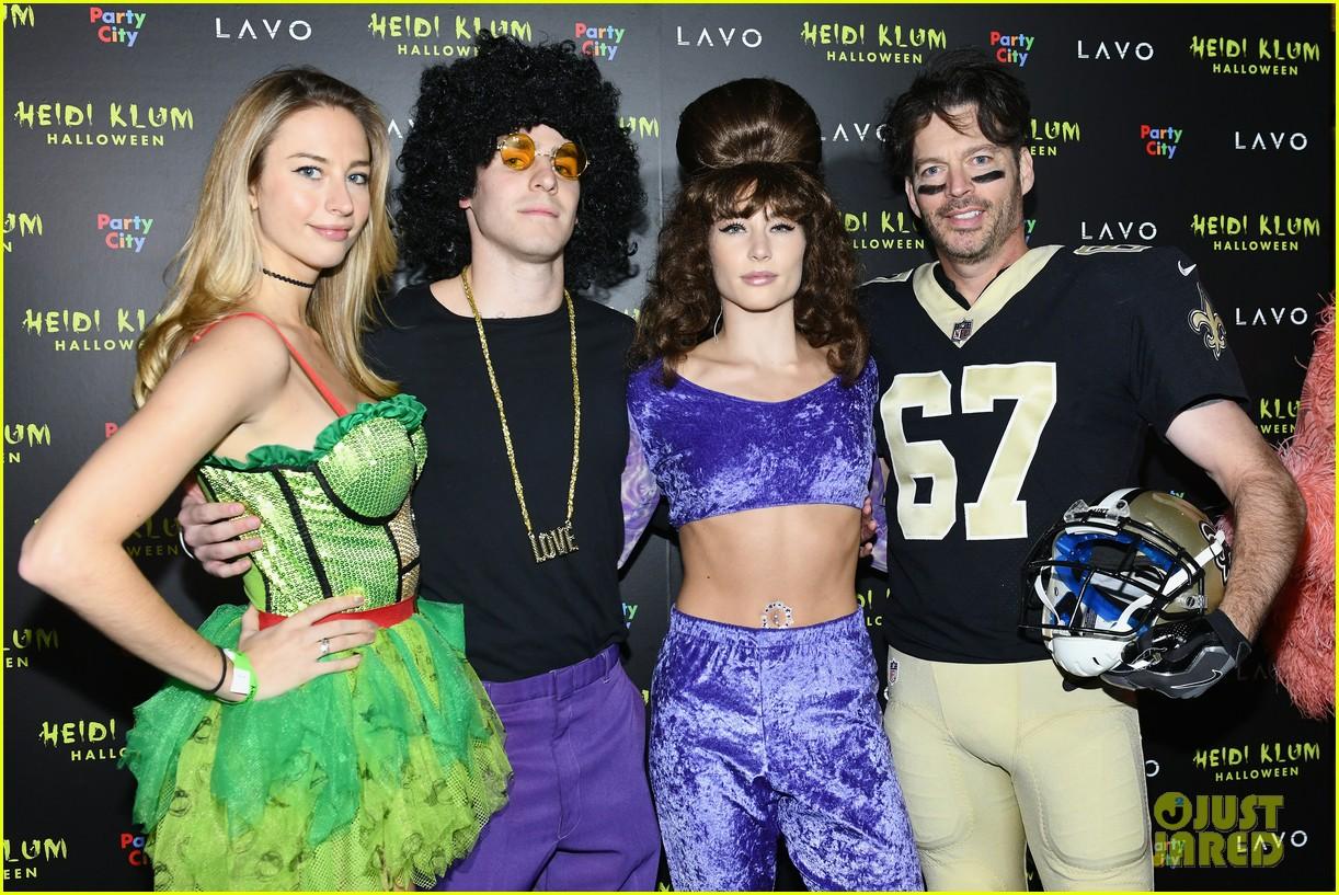 lupita nyongo harry connick jr kat graham heidi klum halloween party 09