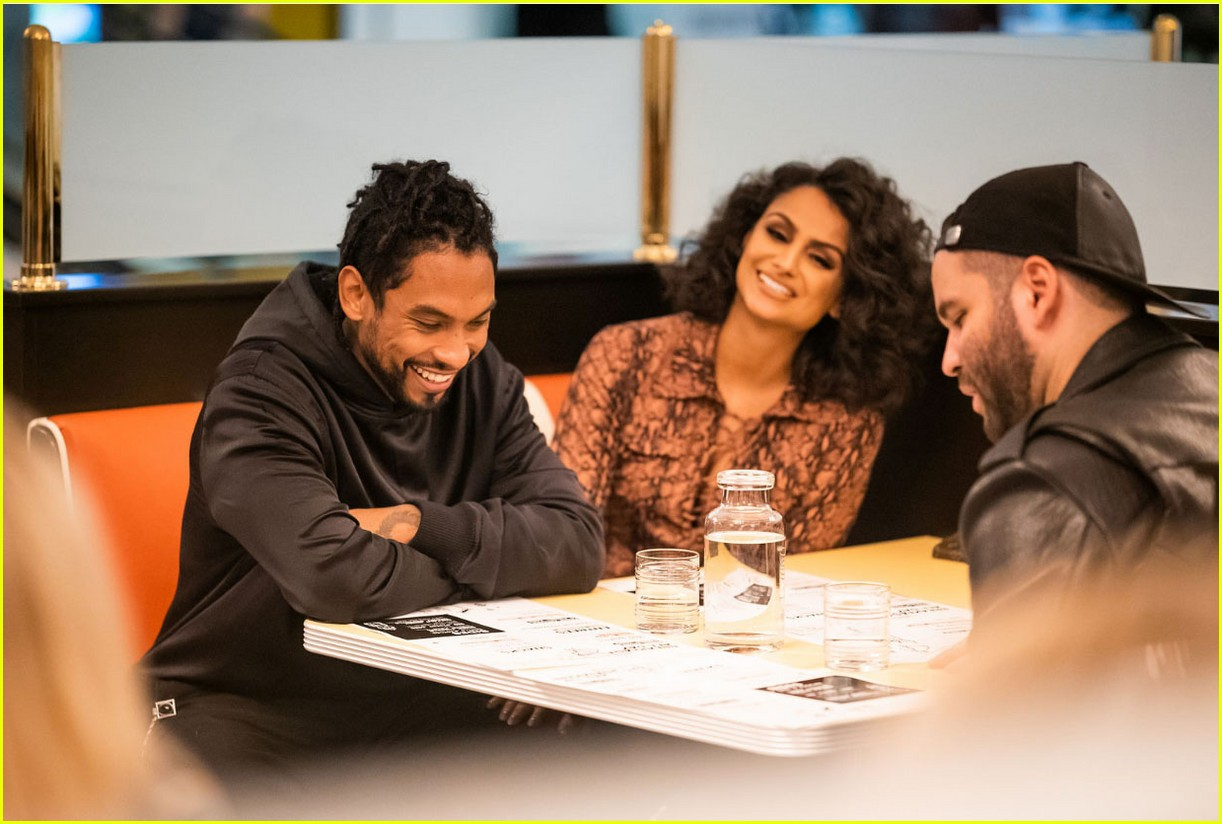miguel celebrates easys opening beverly center launch 01