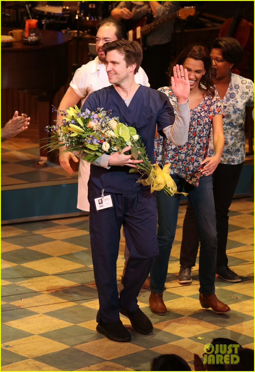 Sara Bareilles Returns to 'Waitress' with Her BFF Gavin Creel: Photo