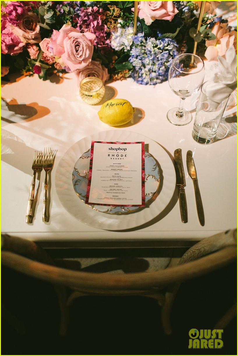 jamie chung georgie flores skyler samuels shopbop rhode dinner 06
