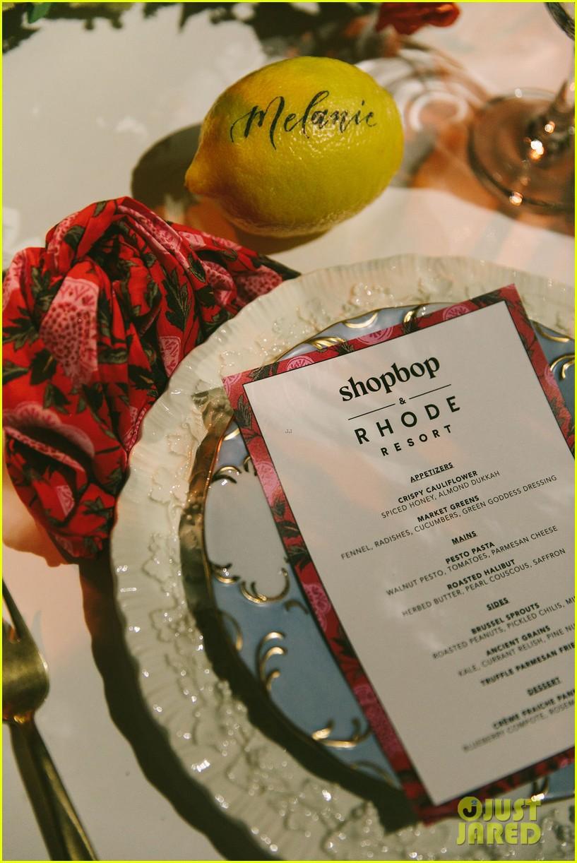 jamie chung georgie flores skyler samuels shopbop rhode dinner 10