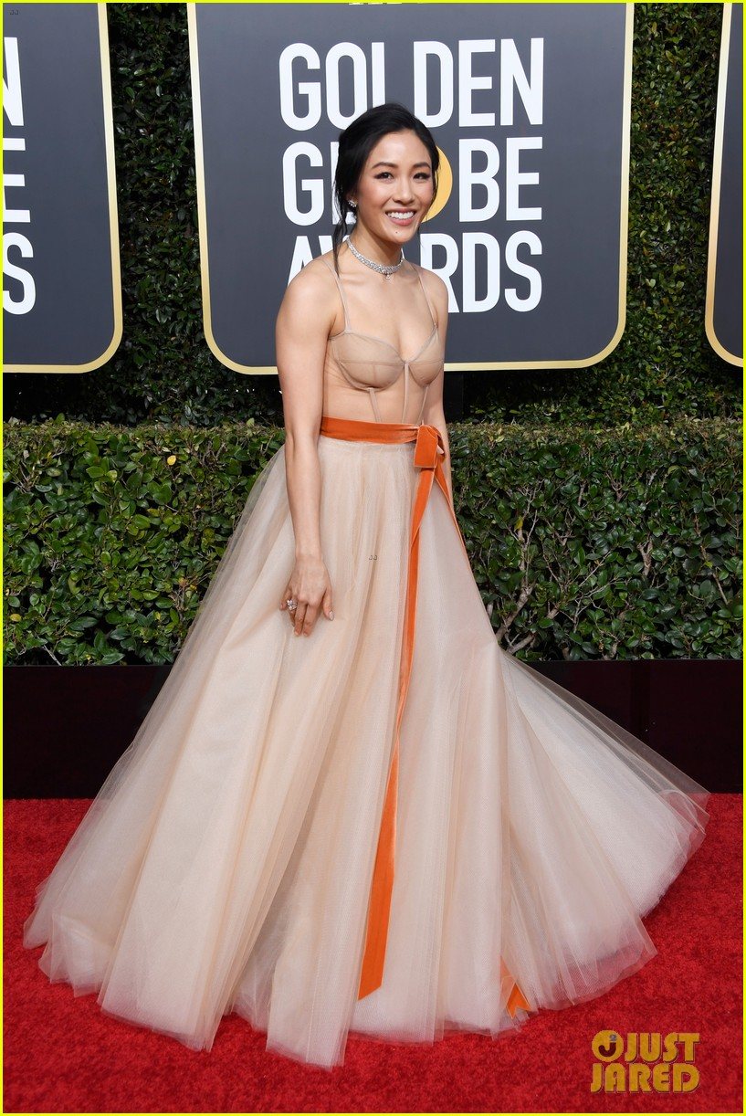 Best Actress Nominee Constance Wu Stuns on the Red Carpet