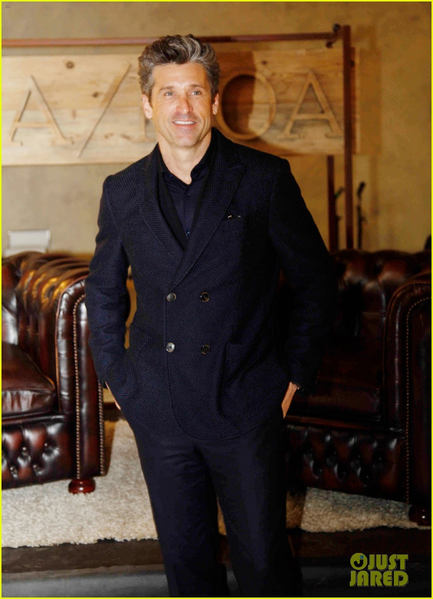 Full Sized Photo Of Patrick Dempsey Launches Business Partnership