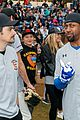 jamie foxx adam sandler zachary levi more team up for celebrity softball benefit game 14
