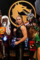 ronda rousey helps launch mortal kombat 06