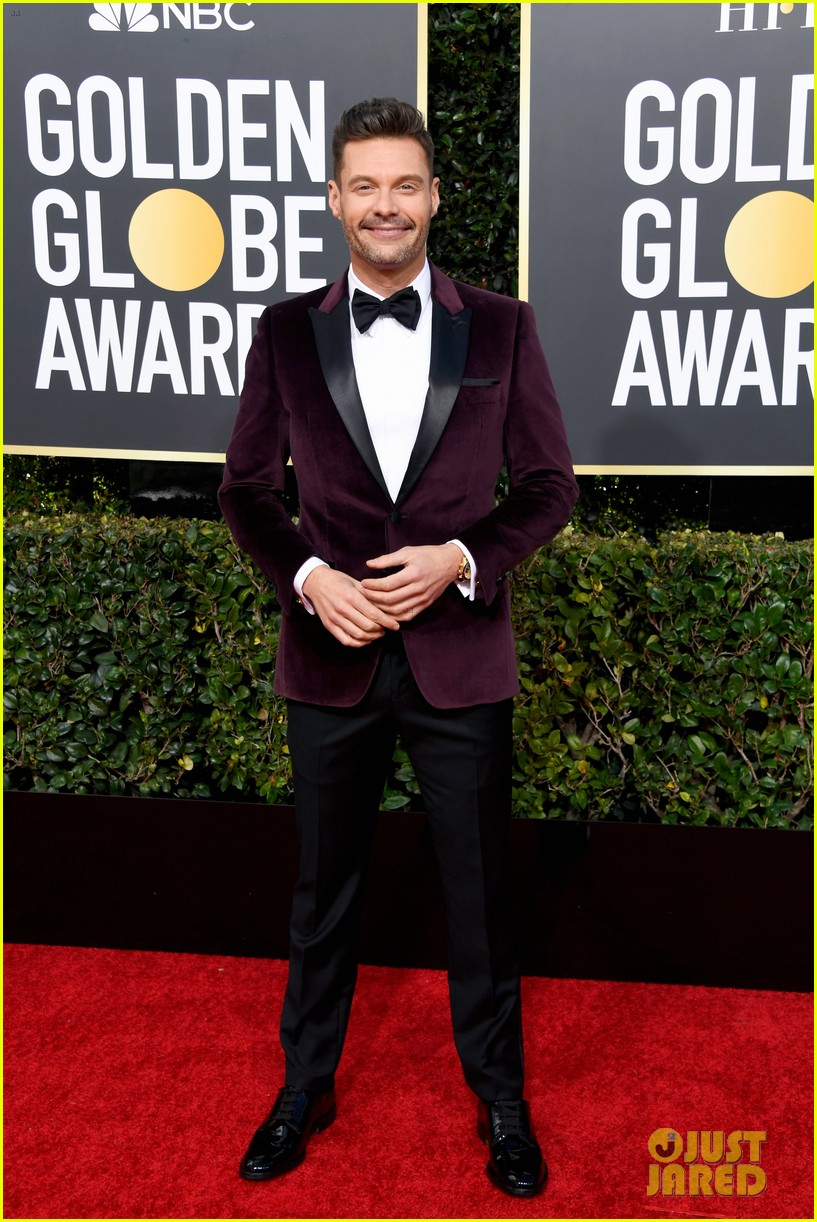 ryan seacrest red carpet 2019 golden globes 01