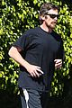 christian bale goes for a run in los angeles 05