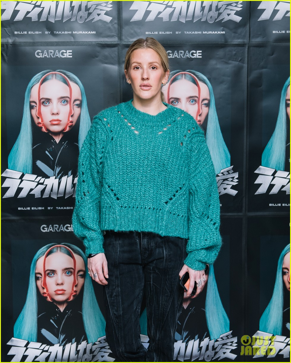 ellie goulding helps garage mag celebrate billie eilish takashi murakami collab 01