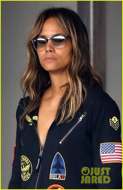 halle berry steps out in aviator onesie in beverly hills 02