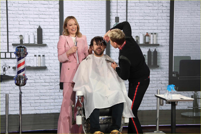 jason sudeikis haircut olivia wilde ellen degeneres 02