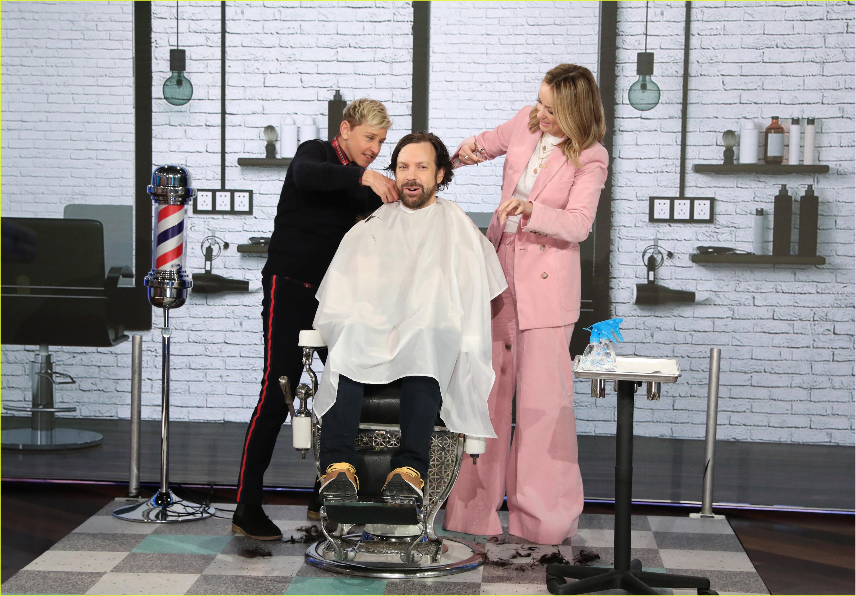 jason sudeikis haircut olivia wilde ellen degeneres 04