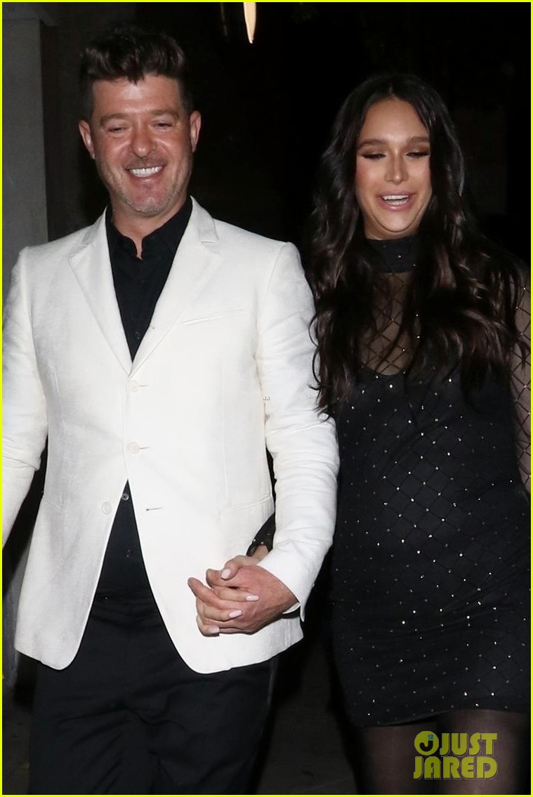 robin thicke april love geary couple up for night out 04