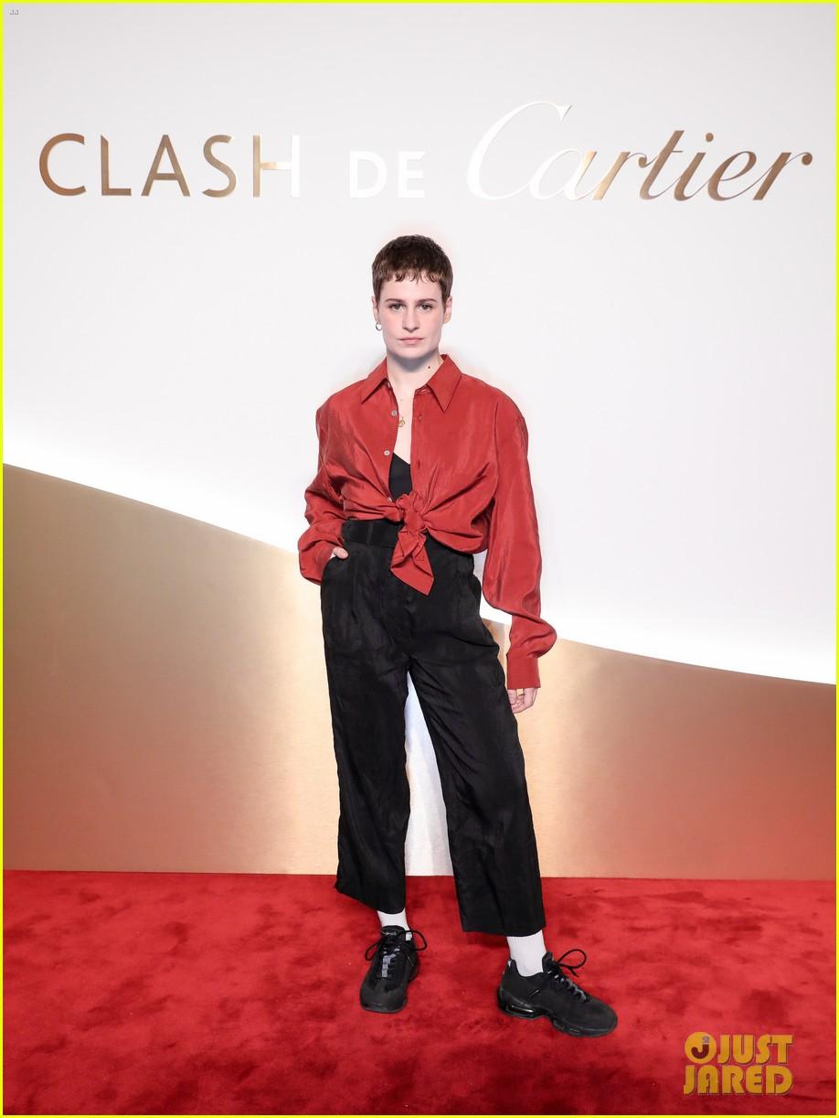 lucy boynton rami malek jake gyllenhaal go glam for clash de cartier celebration 47