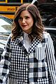 sophia bush suits up in plaid 04
