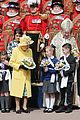 queen elizabeth joined by princess eugenie for easter coin ceremony 06