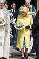 queen elizabeth joined by princess eugenie for easter coin ceremony 30