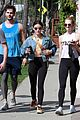 lucy hale jayson blair claudia lee training mate workout 03