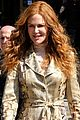 nicole kidman dons tan floral print coat for the undoing 02