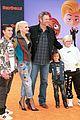 blake shelton gwen stefani her kids ugly dolls premiere 12