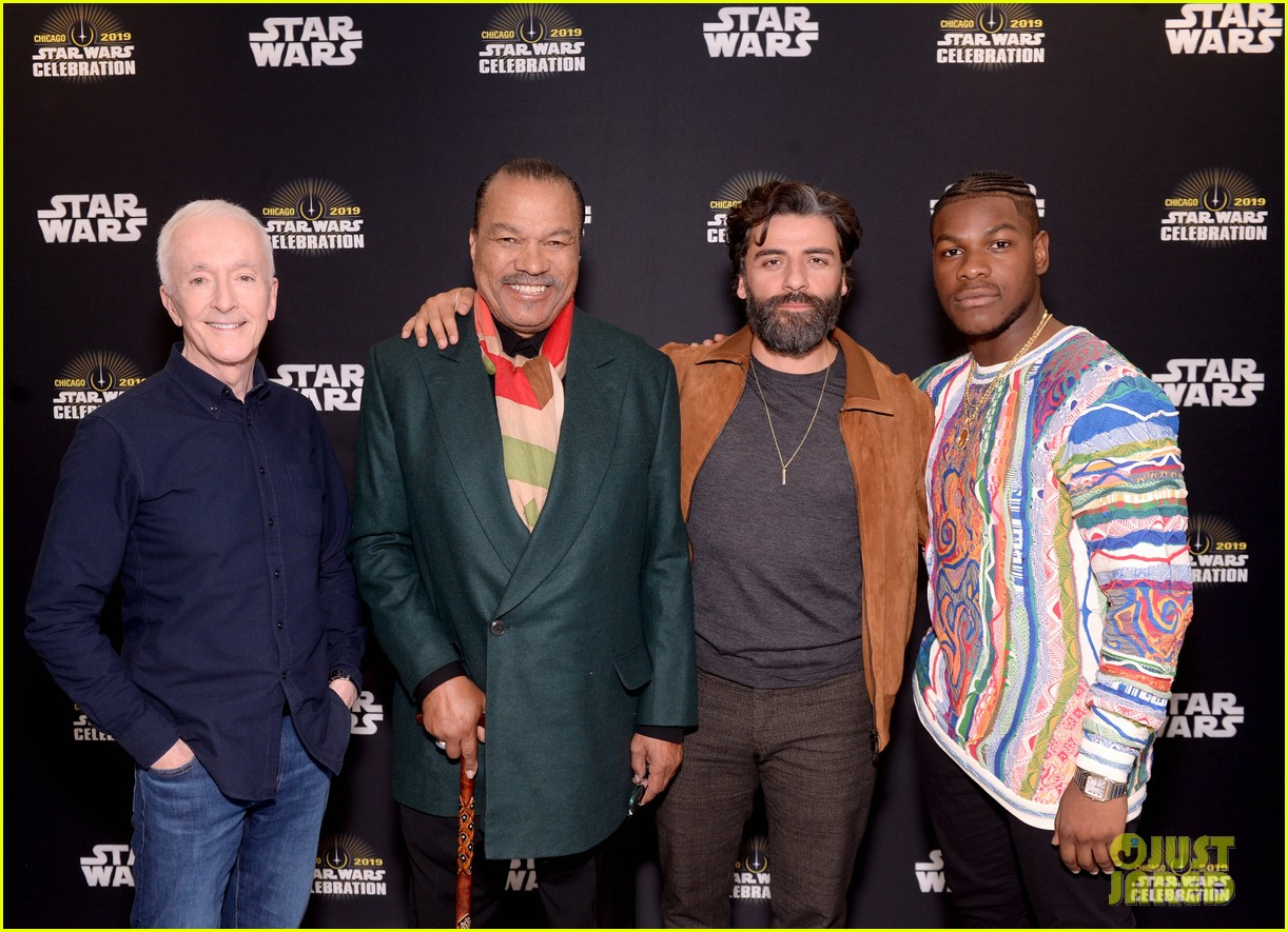 Full Sized Photo Of Star Wars Cast At Celebration 17 Photo 4272302 Just Jared