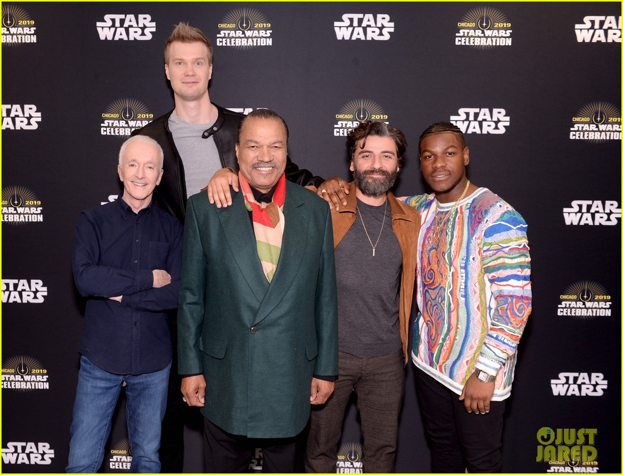 Full Sized Photo Of Star Wars Cast At Celebration 18 Photo 4272303 Just Jared