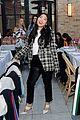 awkwafina and cobie smulders step out in style for veronica beard store opening 28