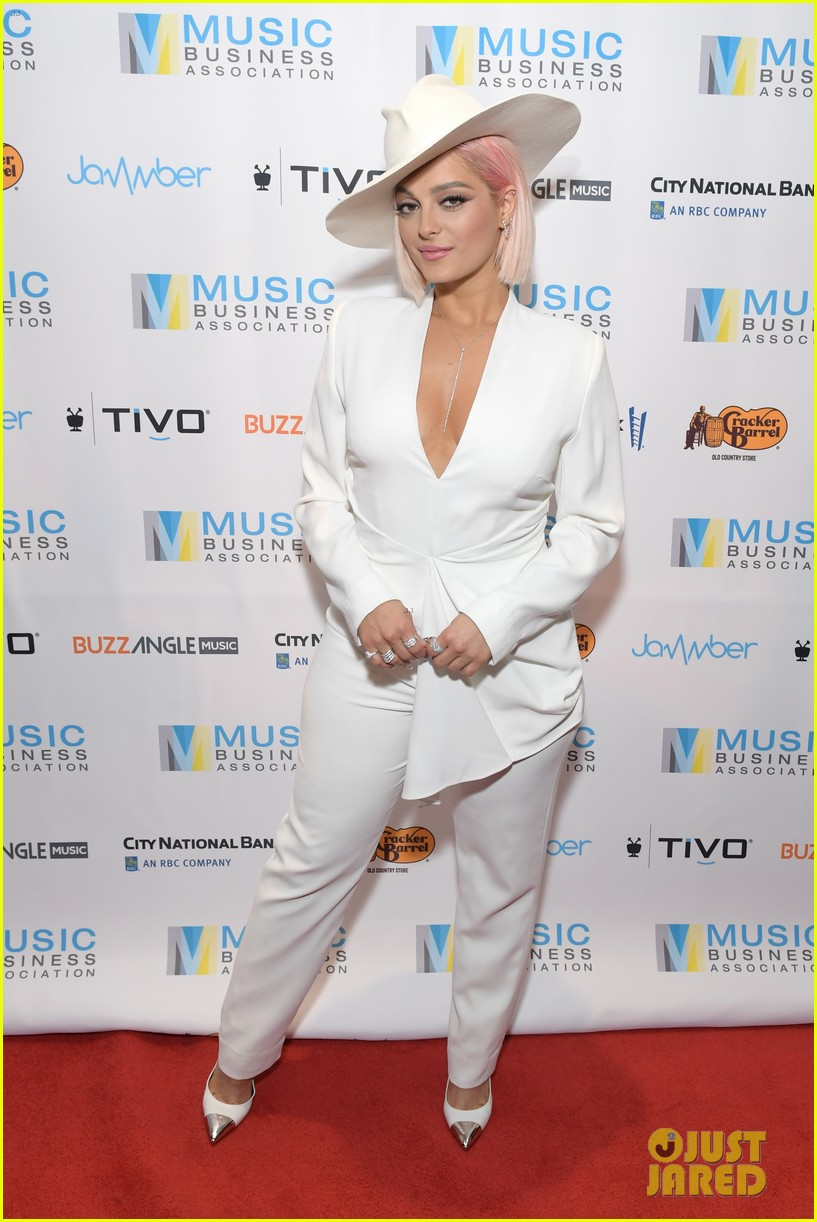 Full Sized Photo of bebe rexha says we need more women