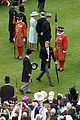 prince harry joins grandmother queen elizabeth at buckingham palace garden party 01