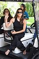 eva longoria dons chic black ensemble at filming italy sardegna festival 03