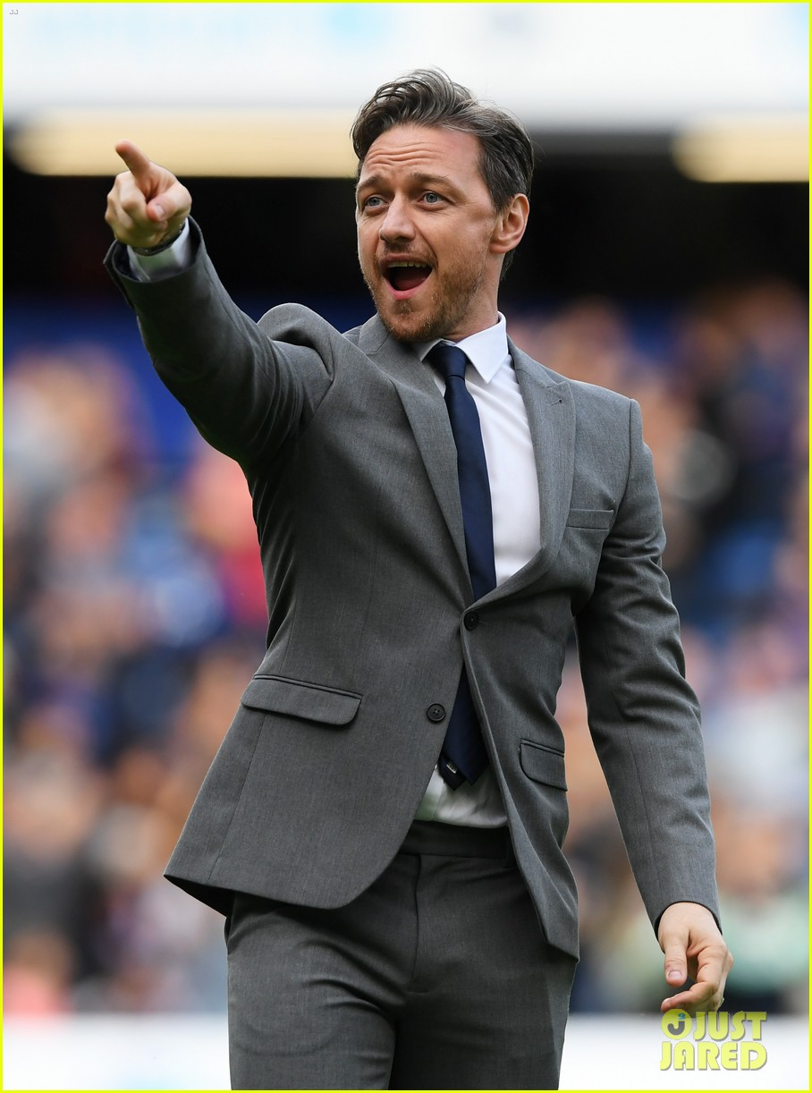 james mcavoy hits the field soccer aid for unicef game 01